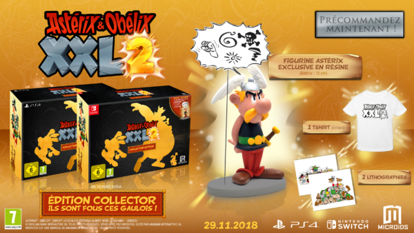 asterix obelix XXL2 Collector_mockup