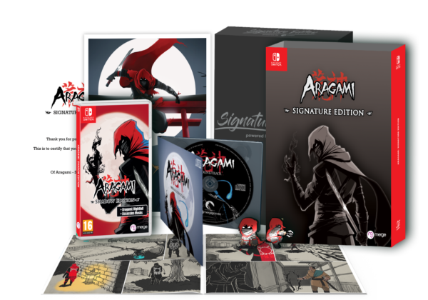 Aragami – open box for store page