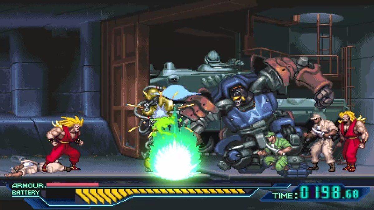 ninja saviors return warriors_screen8
