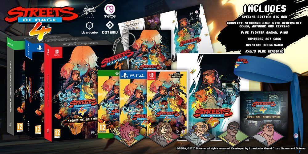 Streets Of Rage 4 Signature Edition en France