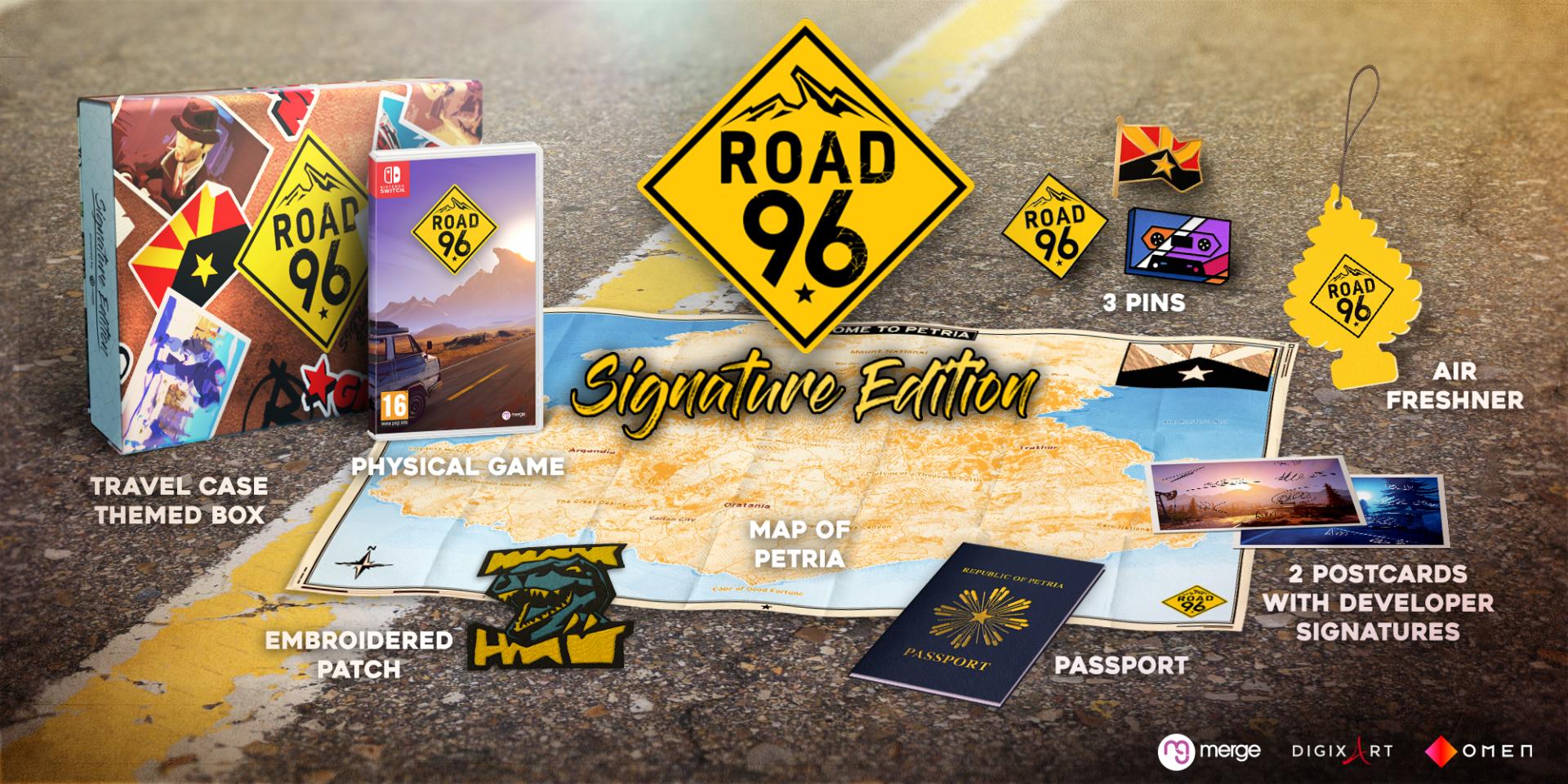 road-96-box-signature-edition-contenu